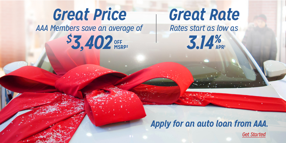 Auto loans at a great price and great rate