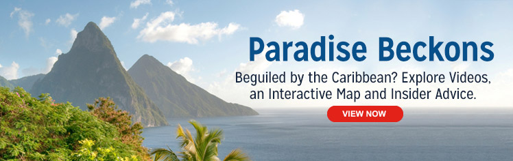 Paradise Beckons Beguiled By The Caribbean
