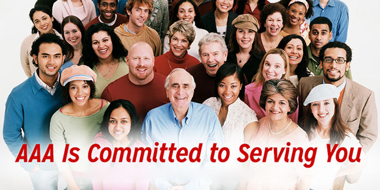 AAA Is Committed To Serving You