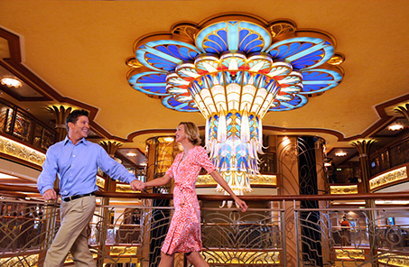 couple on Disney Dream cruise ship